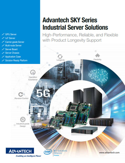 2020 Advantech SKY Series: Industrial-grade Servers Brochure